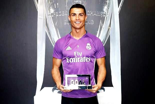 Cristiano Ronaldo é eleito o melhor de 2016 pelo Goal