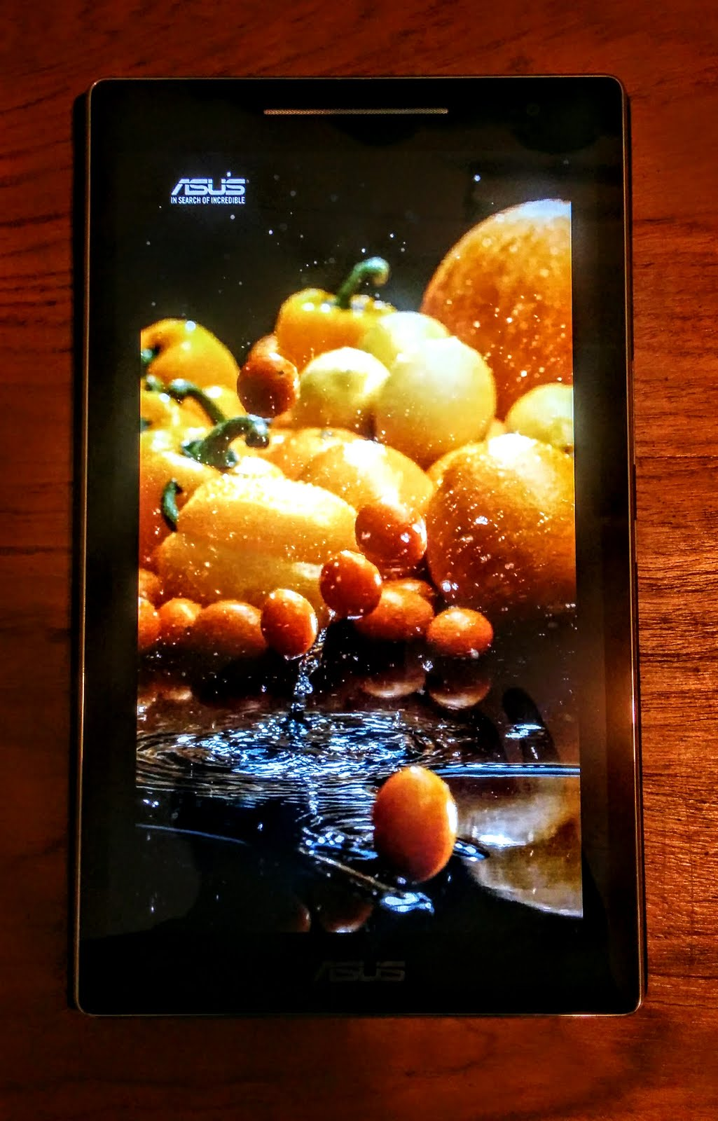 Slow Motion Videos on ASUS ZenPad 8 Tablet