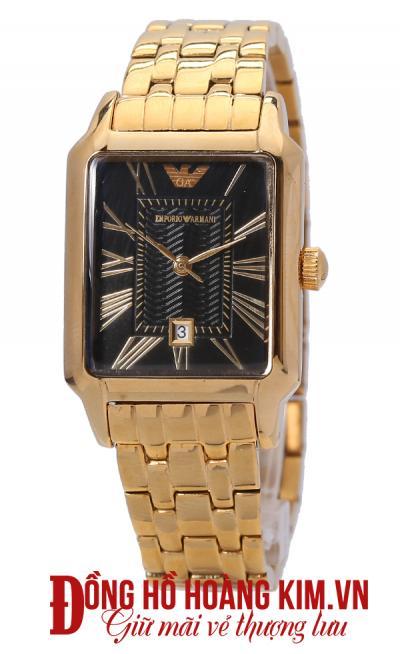 mua đồng hồ armani nữ