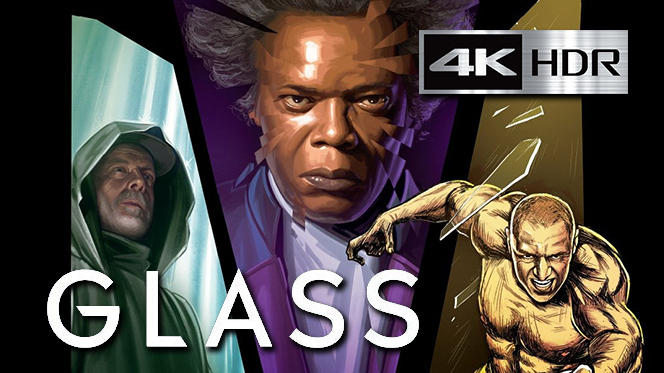 Glass (2019) 4K UHD [HDR] Latino-Ingles