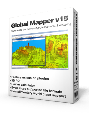 Global Mapper 15.2.3 Build 060614 (x64 – x86) + Crack Free Download