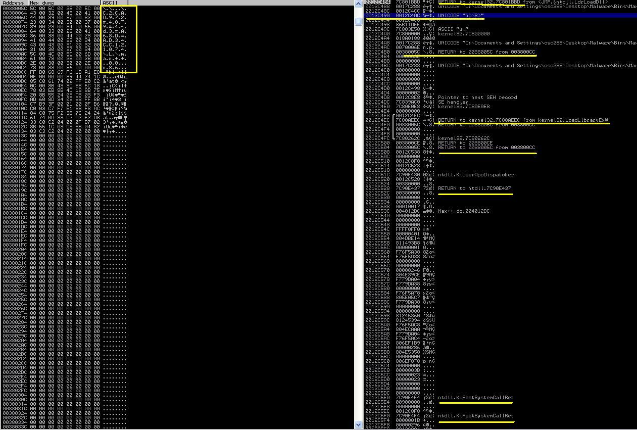 Dll malware analysis