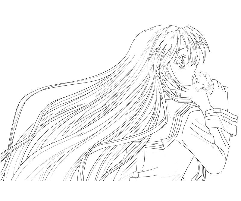Clannad Coloring Pages
