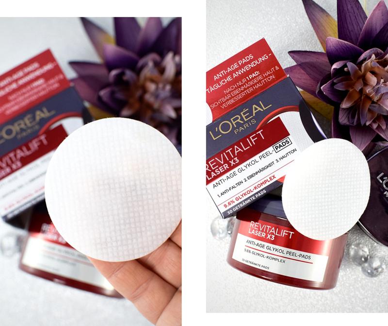 Wie gut sind die L'Oréal Paris Revitalift Laser X3 Peel-Pads mit Glykolsäure