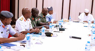the security chiefs referred to as for nearer cooperation from the media to prevent terrorists and radical ideologies directed from overseas from undermining the continued efforts to restore safety in parts of the united states dealing with the challenges of terrorism, financial sabotage, criminality, farmers-herdsmen clashes and the unfold of unlawful guns.