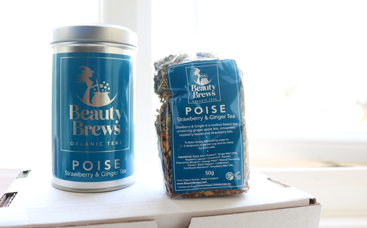 Beauty Brews Organic Teas in Poise