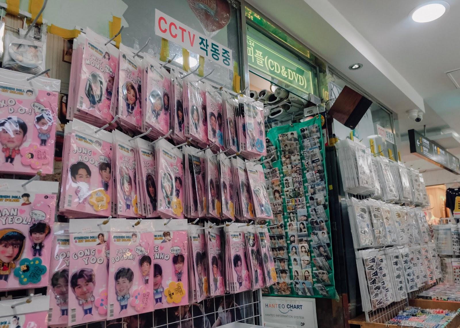 Myeong-dong Seoul Korea Curitan Aqalili