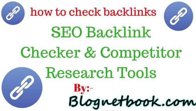 Ranksignals Backlinks Checker tool