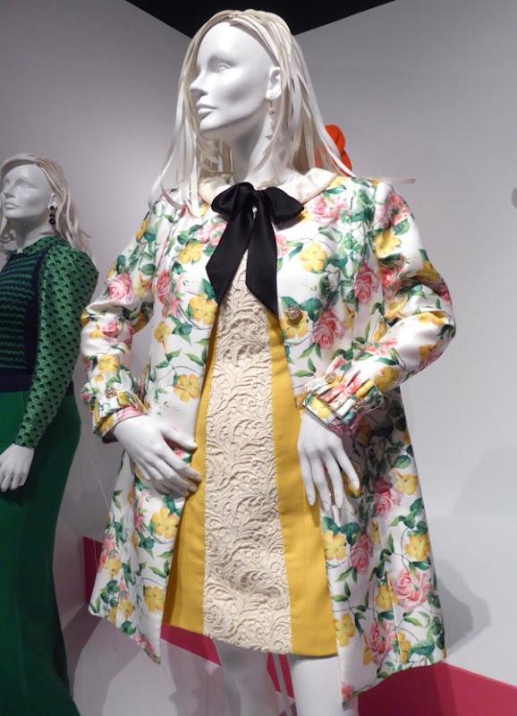 Mindy Kaling Mindy Project floral coat