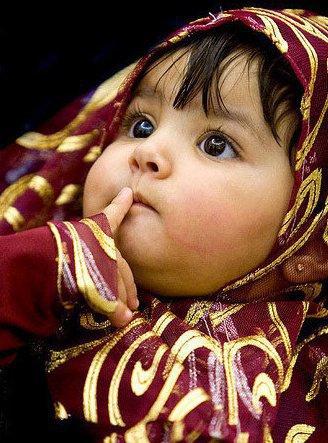 Islamic baby girl