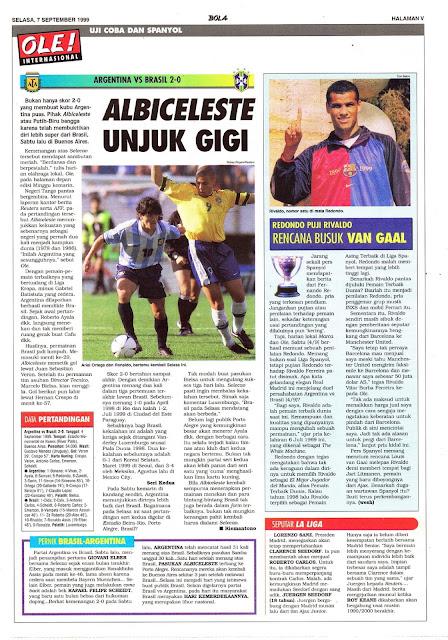 ARGENTINA VS BRASIL 2-0 ALBICELESTE