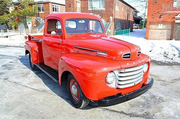 1950 ford f1 short bed pickup auto restorationice. Black Bedroom Furniture Sets. Home Design Ideas