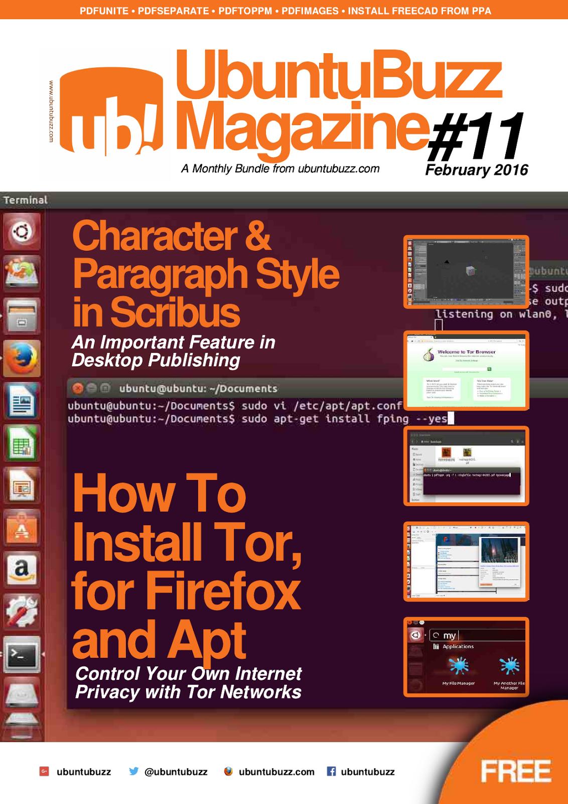 UbuntuBuzz Magazine #11 - Converting PDF