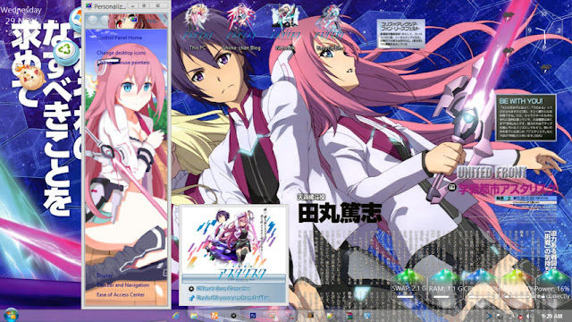 Windows 8.1 Theme Gakusen Toshi Asrisk by Andrea_37