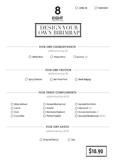 Design Your Own Bibimbap 8 korean bbq