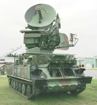 "1S91 (NATO codename ""Straight Flush"") radar system that supported 2K12 batteries"