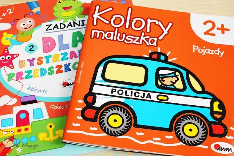 Kolory maluszka i Dla bystrzaków przedszkolaków, czyli książeczki dla mniejszych i większych dzieci