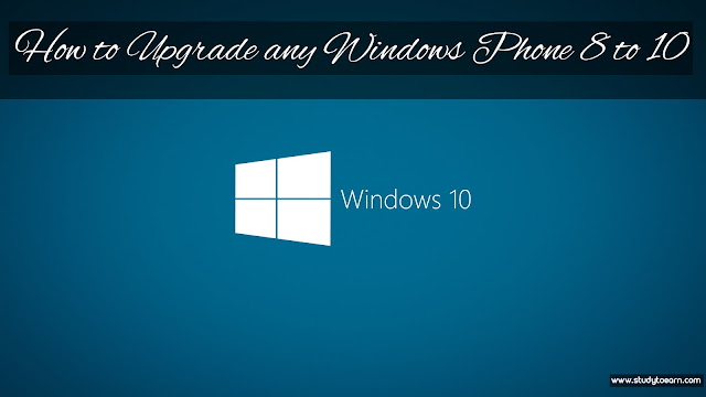 How to Upgrade any Windows Phone 8 to 10