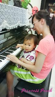 茉莉彈鋼琴