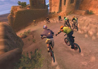 Download Game Downhill Domination PPSSPP ISO Full Version Mod Texture High Compress