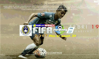 FTS 17 Mod League 1 Persib Bandung Apk + Data Obb Android