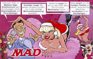 Michael Dierks, Marco Mommsen als Comic in Mad Magazin