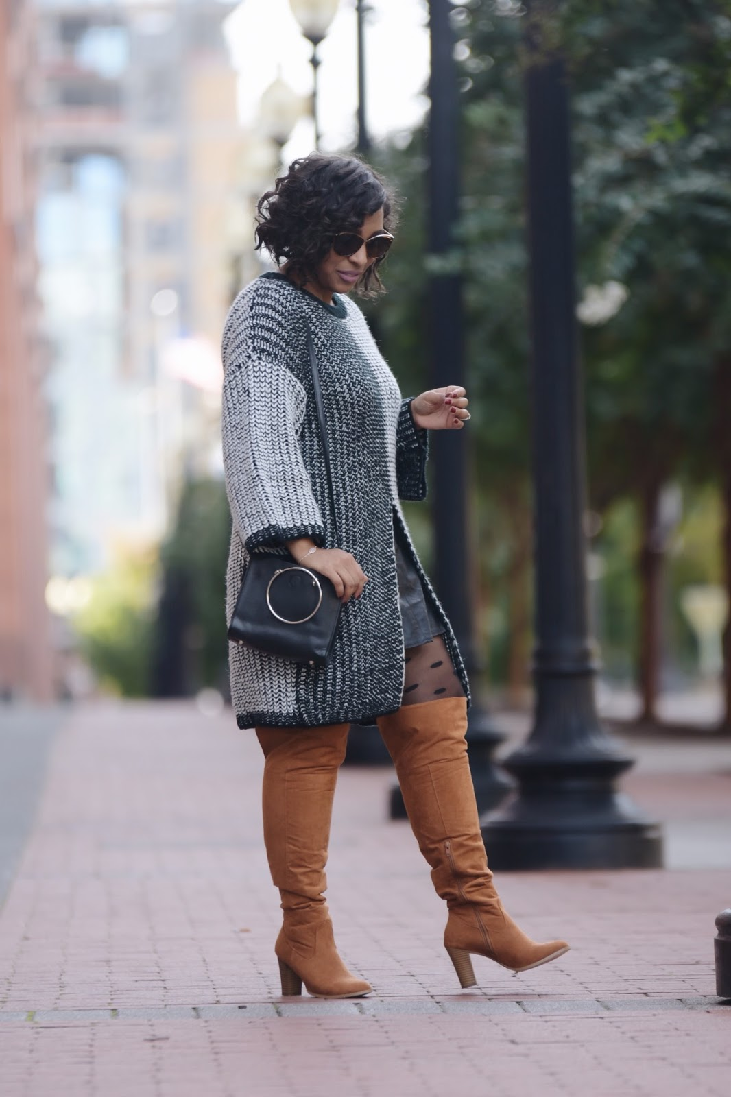 A Cozy Chunky Knit Sweater , shop maude, fall fashion, fall weather