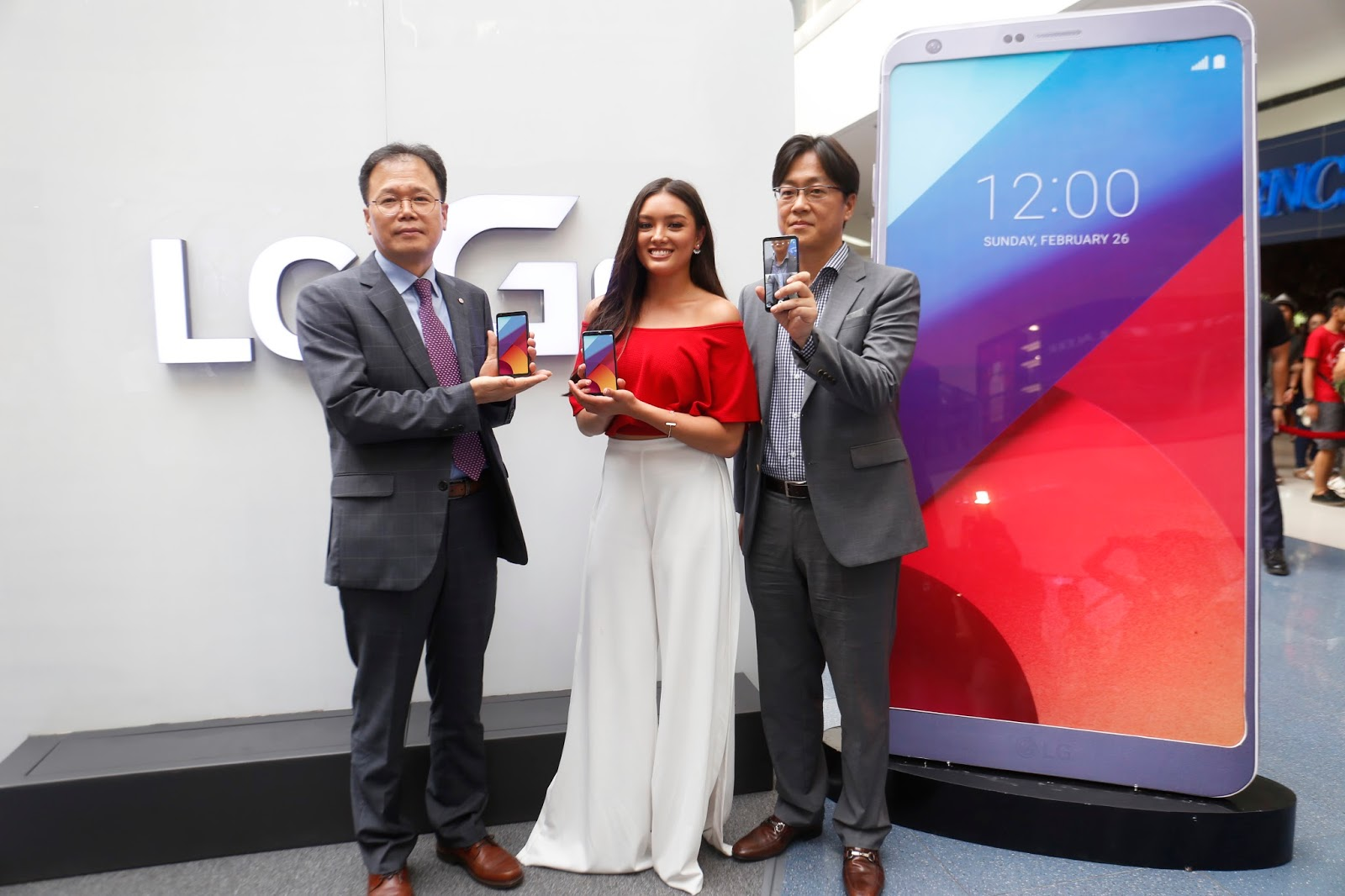 Lauren Reid joins the LG Mobile Philippines family