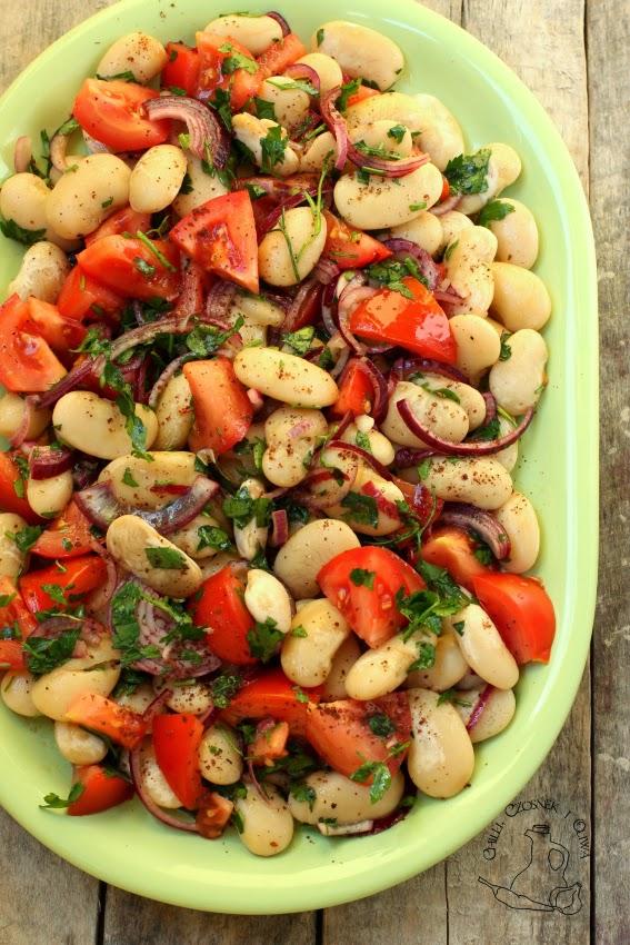 salatka z fasoli bialej