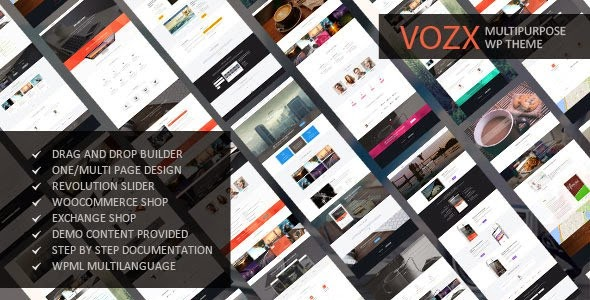 Vozx WordPress Theme