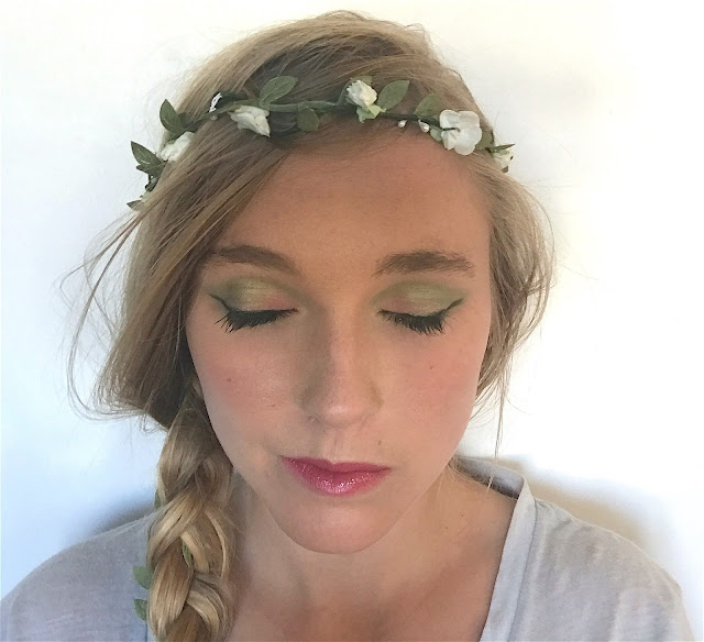 make-up vert pistache