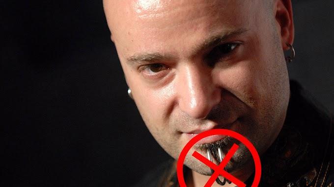 Lo nuevo de DISTURBED y David Draiman ya no usará más sus clásicos piercings... ¿Cual es el motivo? Ingresa aquí.