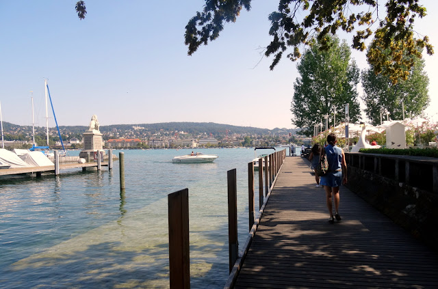 Strolling the Quays of Zurich (Mythenquai) and Brunch at the Quai 61