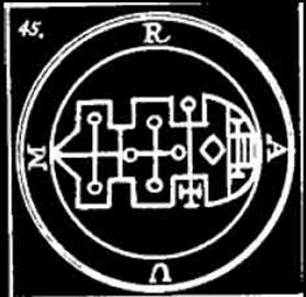 raum, goetia, sigilo, ocultismo, daemon