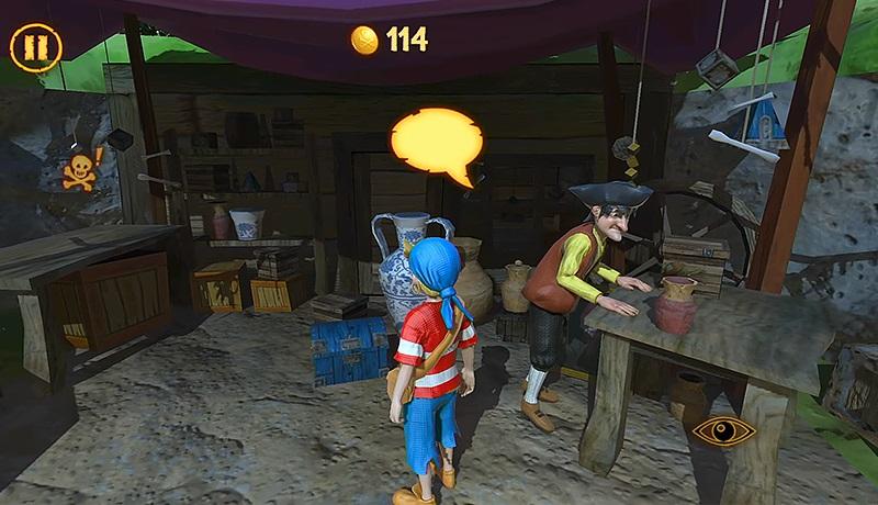 تحميل لعبة المغامرات الأكثر من رائعة Captain Sabertooth Lama Rama للاندرويد