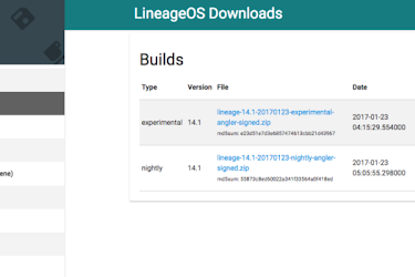 Official Lineage OS Request List for Any Android device