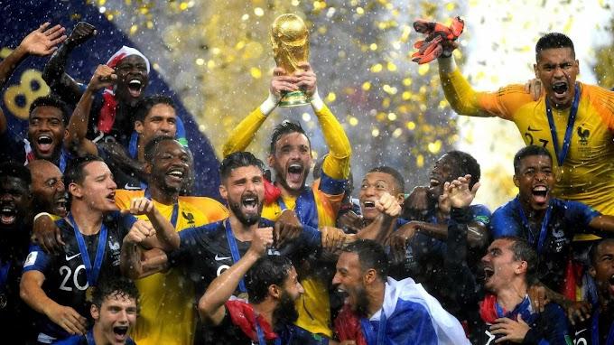 França vence a Croácia e é bicampeã da Copa do Mundo