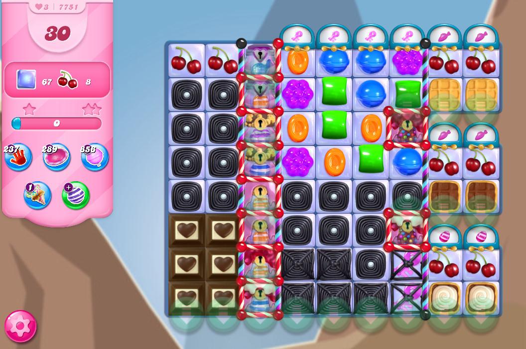 Candy Crush Saga level 7751