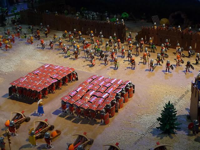 Diorama Playmobil Romanos