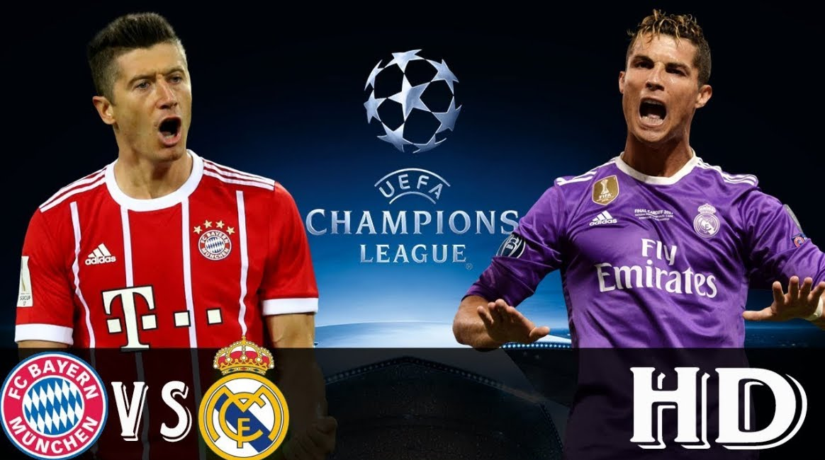 BAYERN MONACO REAL MADRID Streaming Video Rojadirecta Canale 5 Facebook YouTube, dove vederla Gratis con il cellulare