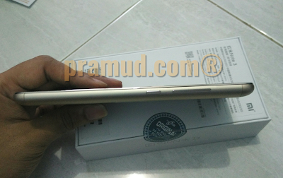 review tampak samping kiri xiaomi redmi note 3 pro