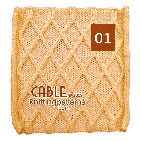 Cable Knitting Pattern . #cableknitting