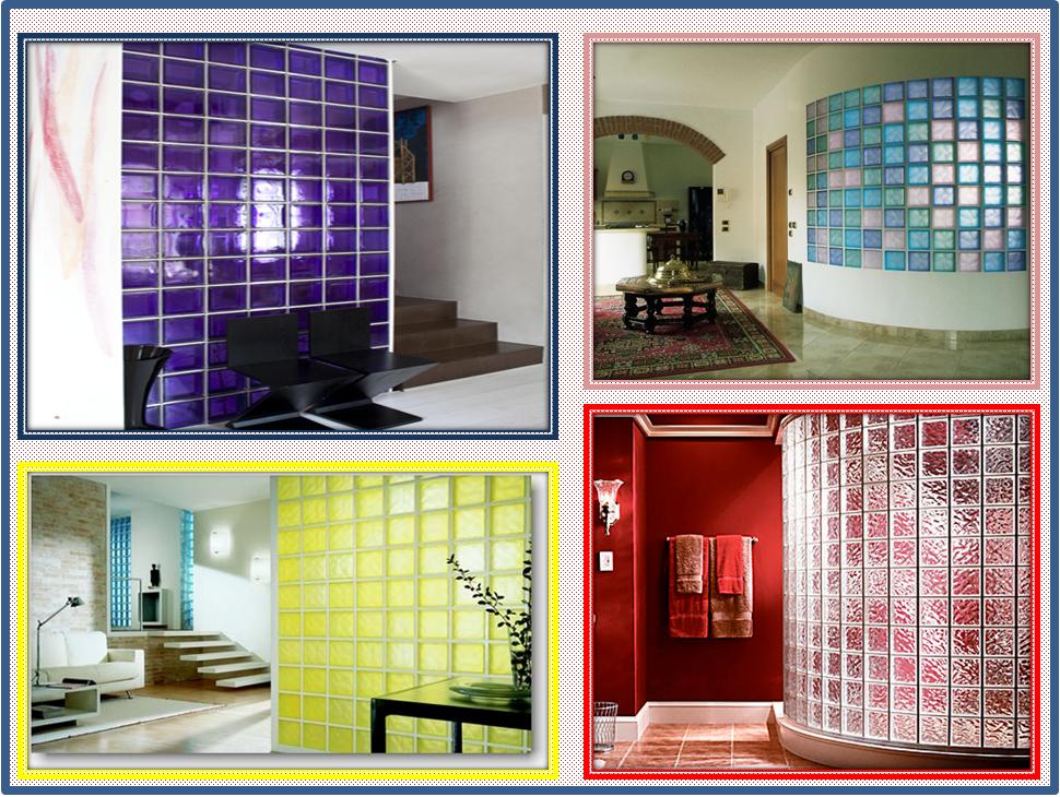 Doccia con parete vetrocemento interior relooking - Mattoni vetrocemento per doccia ...