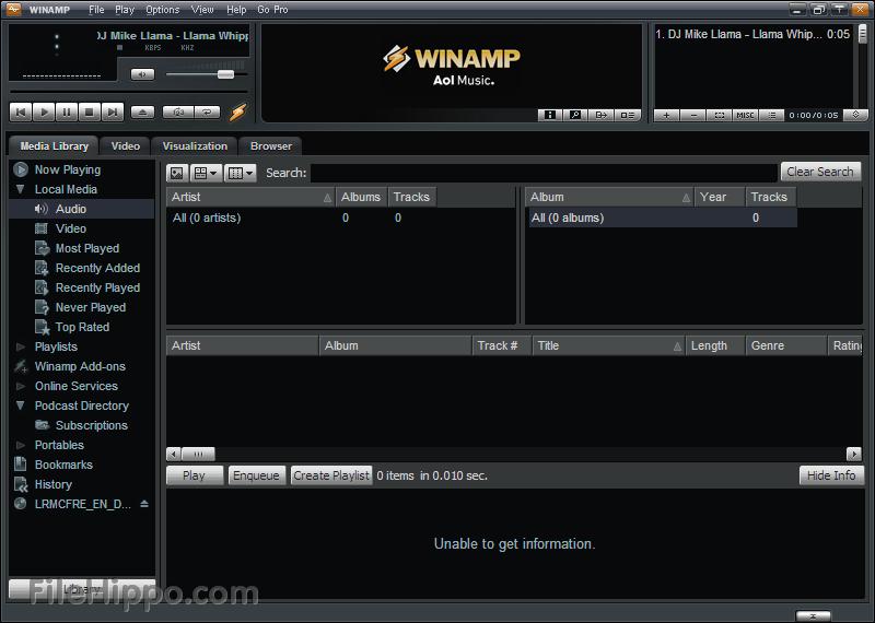 winamp 01net