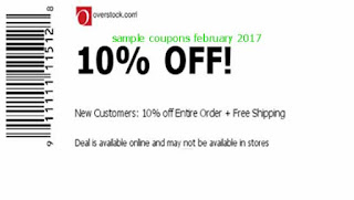free Overstock coupons february 2017