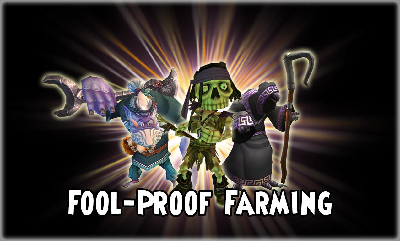 The Simple Swashbuckler: Fool-proof Farming