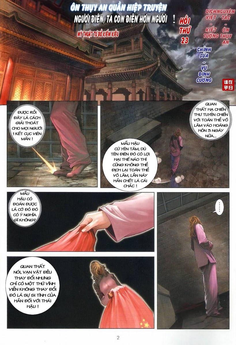 Ôn Thụy An Quần Hiệp Truyện chap 23 trang 2