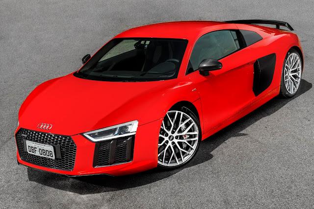 Audi R8 V10 Plus 2018