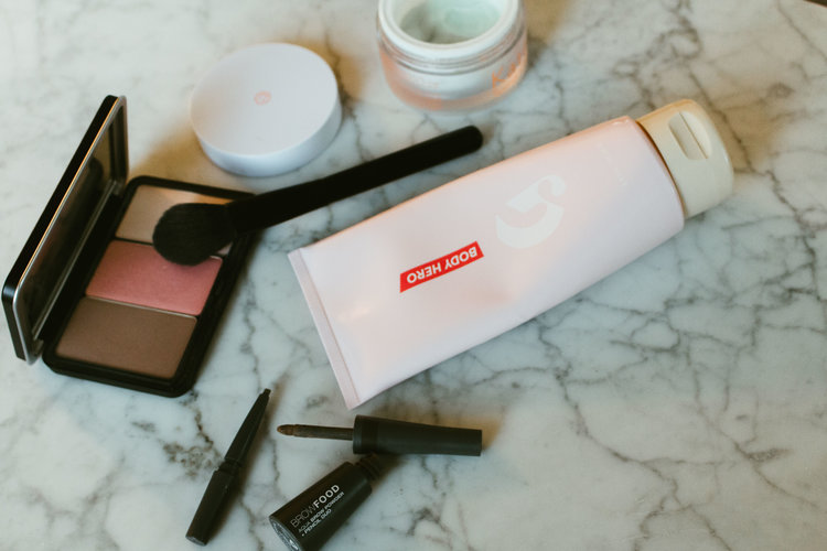 Beauty Review feat Glossier Body Hero