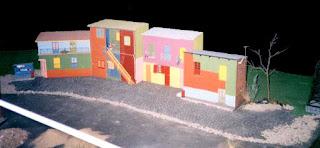 maqueta de la boca, reproduccion de edificios, maquetas de edificios
